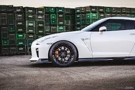 nissan white car white nissan gtr brixton forged wheels
