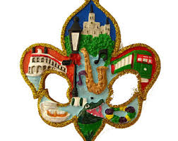 new orleans ornament etsy