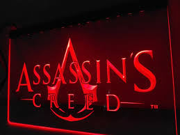 Neon Sign Home Decor Assassin U0027s Creed Led Sign U2013 Vintagily