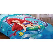 Little Mermaid Comforter Buy Disney Little Mermaid Ariel Twin Comforter And Twin Sheet Set