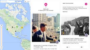 Jfk Map Mapping John F Kennedy U0027s 1960 Presidential Campaign With
