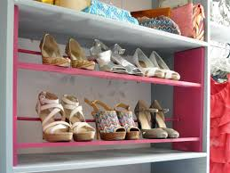 Diy Build Shelves In Closet by How To Build A Shoe Rack For Your Closet Hgtv