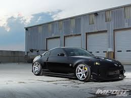 Nissan 350z Blacked Out - 2003 nissan 350z track edition import tuner magazine