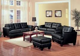 Black Modern Leather Sofa Leather Sofa Set West Leather Sofas
