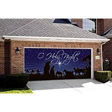 amazon com nativity o holy night outdoor christmas holiday garage