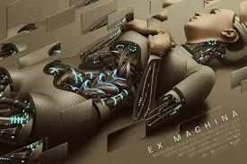rory kurtz new movie poster ex machina for mondo levy creative