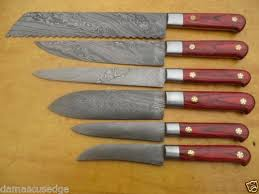 Steel Kitchen Knives Damascus Steel Kitchen Knife Set Spero Knives