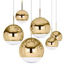 Sphere Ceiling Light by Mirror Ball Pendant Light