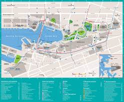 New York City Attractions Map by Sydney Darling Harbour Map