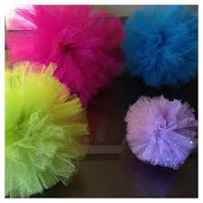 tulle flowers thunder events mondays diy tulle flowers