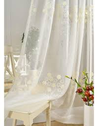 ikea embroidered curtains decorate the house with beautiful curtains