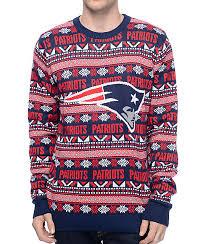 patriots sweater nfl forever collectibles patriots aztec sweater zumiez