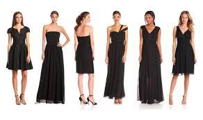 black bridesmaid dresses top 10 best black bridesmaid dresses