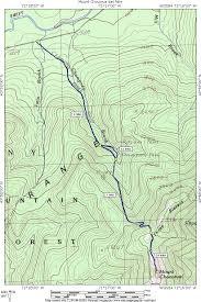 Mount Washington Trail Map by Mount Chocorua Day Hike
