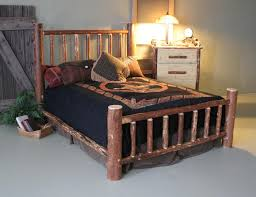 Log Bed Pictures by Pine Queen Mountain Log Bed
