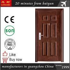 Steel Interior Security Doors China Interior Steel Security Door Single Design Gz Doors Factory