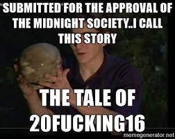 Afraid Meme - are you afraid of the dark meme tale of 2016 on bingememe