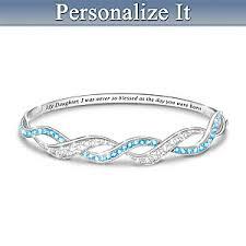 personalized bracelet my precious personalized birthstone bracelet