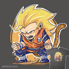 goku super saiyan 3 chibi shirtoid
