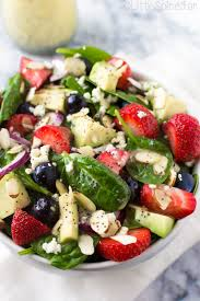 berry spinach salad citrus poppy seed dressing little spice jar