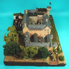 building a tulloch castle model