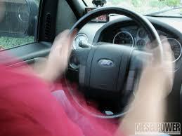 dodge ram steering play curing wobble tightening up your steering diesel power