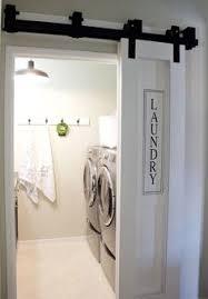 Laundry Closet Door I Like The Barn Door So It Can Be Slightly Open