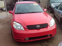 a tokunbo toyota matrix 2004 n1 75m 08098508092 autos nigeria