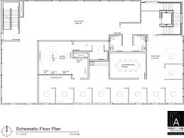 contemporary office sample floor plan for professional office