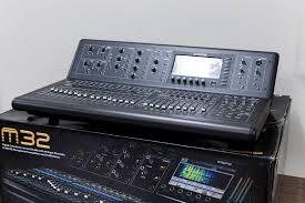 Midas 32 Midas Model M32 Digital Audio Mixing Console For Live And Studio