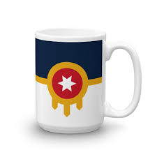 White Flag Tulsa Tulsa Flag Mug 15oz U2013 Howdy Design Co