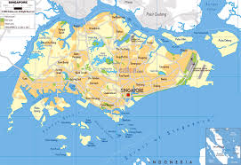 Physical Map Of Latin America by Maps Of Singapore Detailed Map Of Singapore In English Tourist