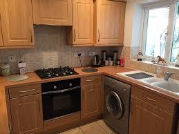 Washing Machine In Kitchen Design Other Kitchen Washing Machine Ceramic Sink And Swivel Tap