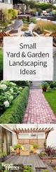 Landscaping Ideas For Small Backyards by Best 25 Small Yard Design Ideas On Pinterest Side Yards Narrow