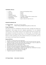 It Skills In Resume Example by Glamorous Testing Skills In Resume 19 With Additional Professional