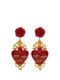 clip on earrings uk and heart drop clip on earrings dolce gabbana