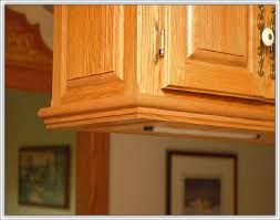 Install Crown Molding On Kitchen Cabinets Kitchen Ceiling Crown Molding Ideas Cutting Crown Molding Flat