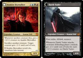 someone made a set of wars magic the gathering cards and