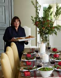 as the host of barefoot contessa on food network and author of