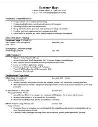 Objective Of A Resume Examples by Stupendous Good Examples Of Resumes 9 Key Skills Resume Examples