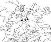 captain america civil war 08 coloring pages printable