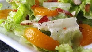 romaine and mandarin orange salad with poppy seed dressing recipe