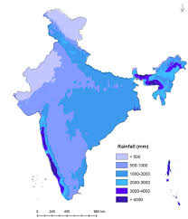 World Map Of India by Annual Rainfall Map Of India 2000x2330 Mapporn
