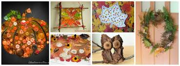 Simple Fall Crafts For Kids - 31 art projects for children to make in the fall