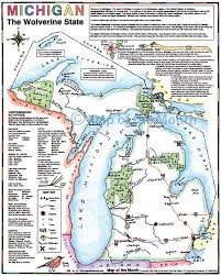 Michigan Map by Michigan Map Maps For The Classroom