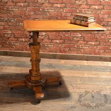 Reading Desk Stand by Antique Reading Table By John Carter London Adjustable Lectern
