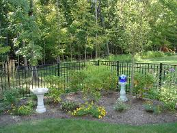 protect your garden with a durable ornamental aluminum fence