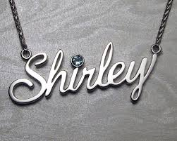 name pendant handcrafted shirley cutout name pendant metamorphosis jewelry