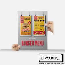 menu flyer template