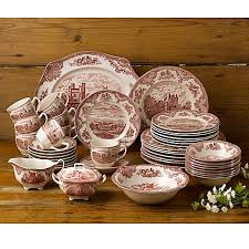 johnson brothers castles 45 dinnerware set in